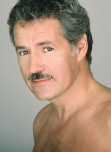 No shirt is manly enough for TREBEK!