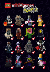 lego monster minifigs