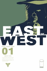 Cover for the first issue of East of West.