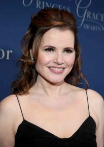 A recent picture of Damn Is She Hot Or What! ...er...I mean Geena Davis.